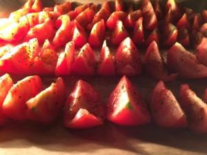 tomates dans le four